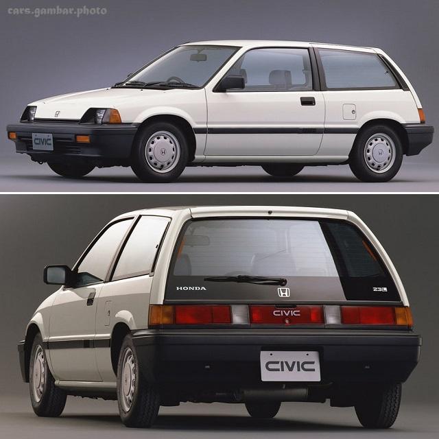 Honda Civic 3rd Gen Hatchback 23L White prefacelift