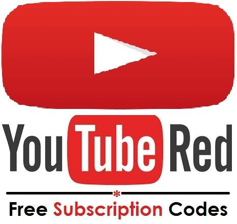 Get YouTube Red Free Subscription Codes 2020