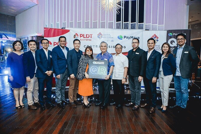 PLDT SME Nation Gives PFA QR Code Facilities Powered by PayMaya