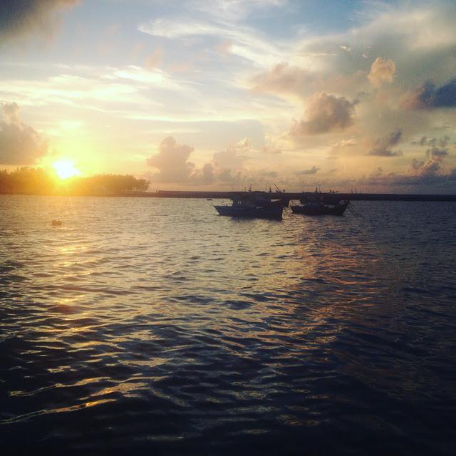 Cảnh đẹp thơ mộng trên đảo Phú Quý.