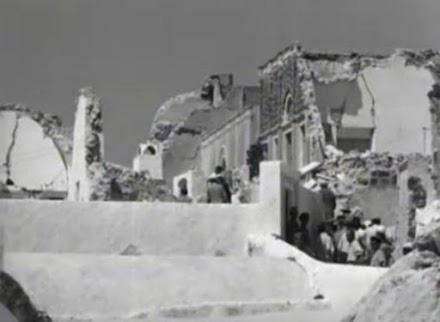 Ο φονικός σεισμός των 7,5 Ρίχτερ που έγινε το 1956 στις Κυκλάδες και σημειώθηκε τσουνάμι