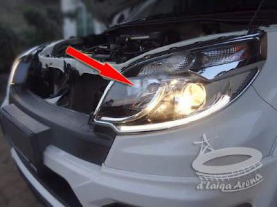 Lampu Jauh (High Beam) Daihatsu Terios Mati