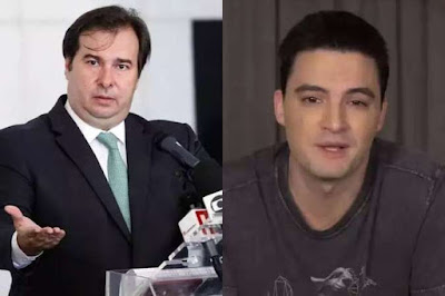 Maia  convida   Felipe Neto para debate sobre fake news