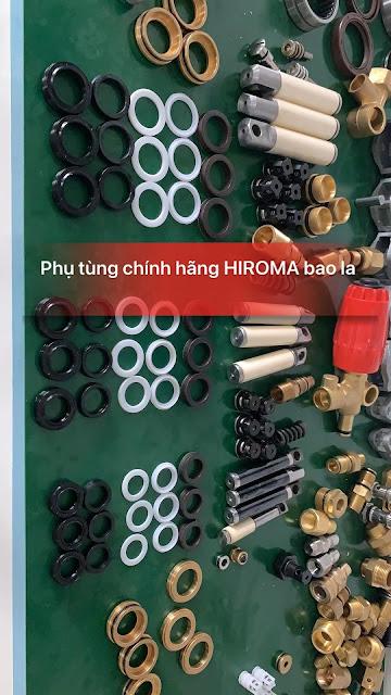 Máy rửa xe chính hãng HIROMA Công suất 3kw Model DHL - 131 4