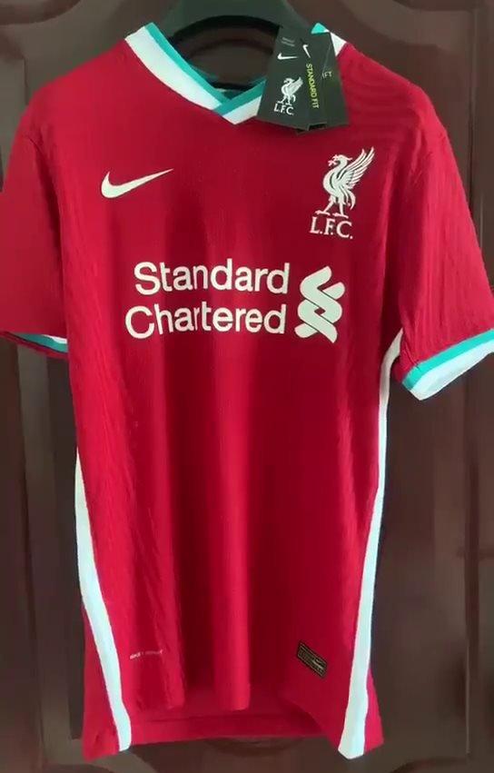 Nova Camisa Titular Do Liverpool Tem Imagem Vazada Show De Camisas