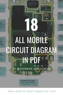 mobile phone circuit diagram