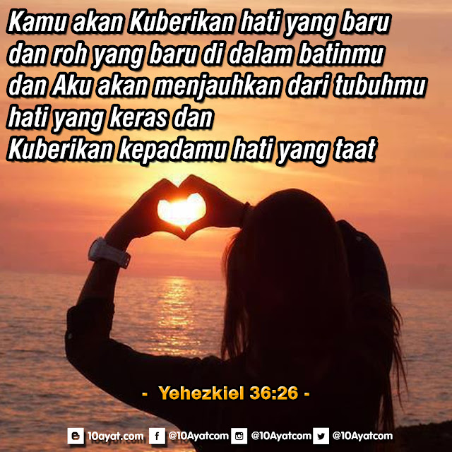 Yehezkiel 36:26