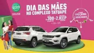 Promoção Complexo Tatuapé Dia das Mães 2019 - 2 Jeeps Compass 0KM