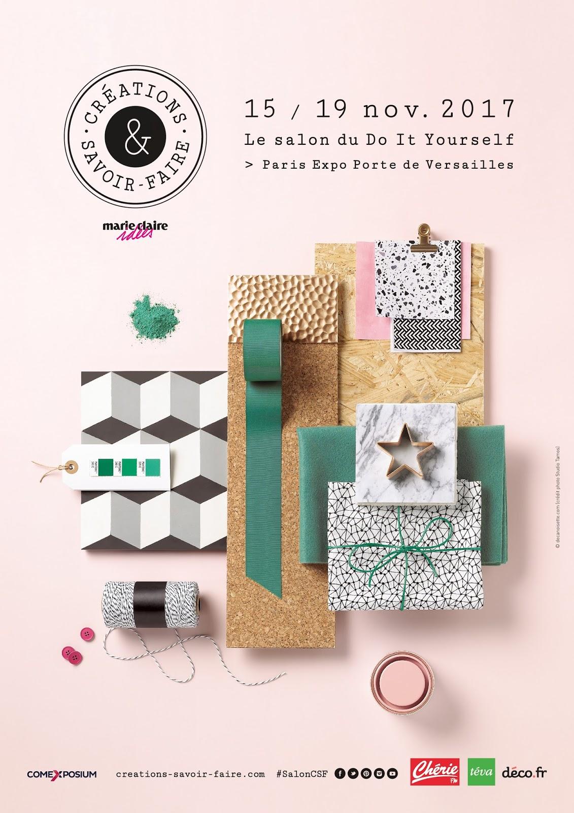 caro et zolie gagnez vos invitations pour le salon cr ations savoir faire 2017. Black Bedroom Furniture Sets. Home Design Ideas