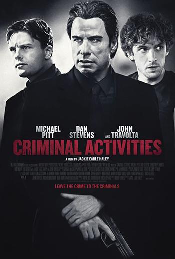Criminal Activities 2015 Dual Audio ORG Hindi 480p BluRay 300MB ESubs poster