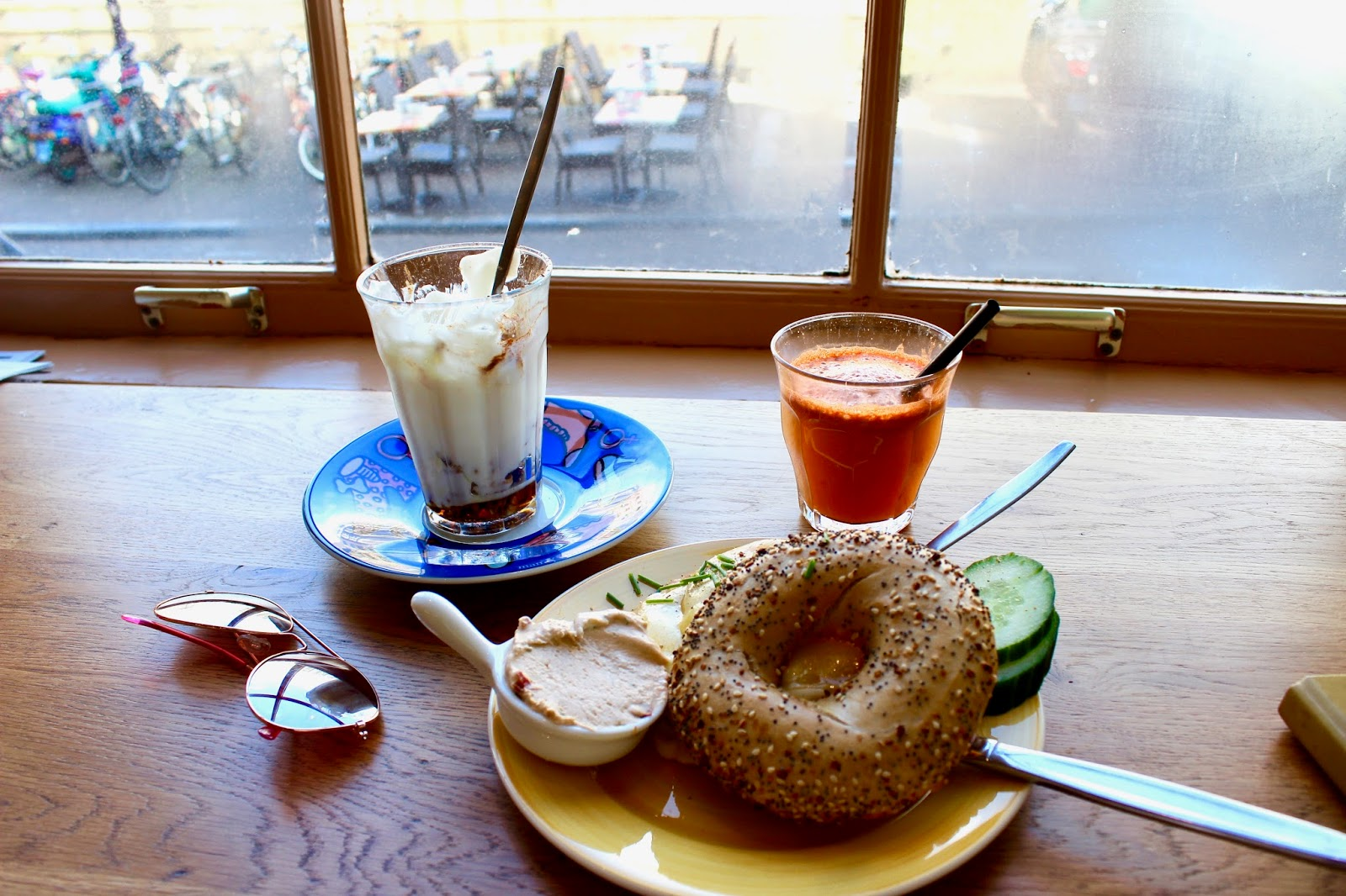 Brunch at Bagels and Beans Amsterdam