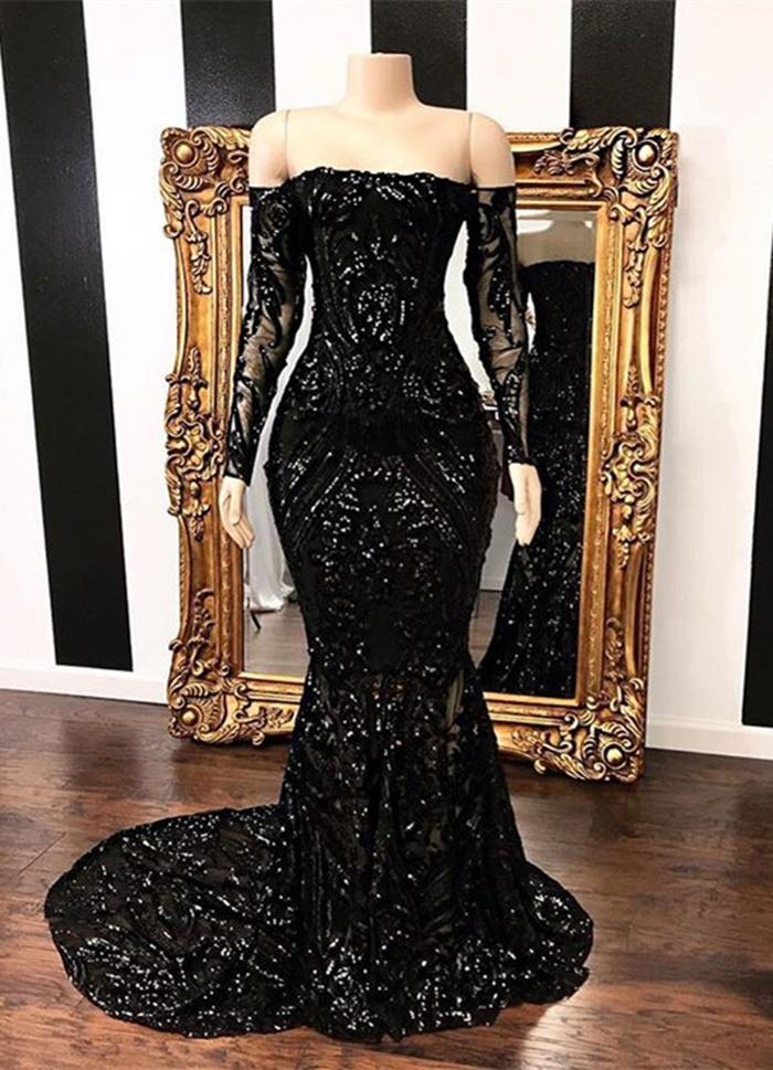 https://www.27dress.com/p/amazing-black-long-sleeve-mermaid-sequins-prom-dress-109751.html?cate_2=33
