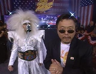 WCW Great American Bash 1997 - Akira Hokuto w/ Sonny Onoo