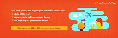 """Concurso """"#focoforçaeOffice"""""""