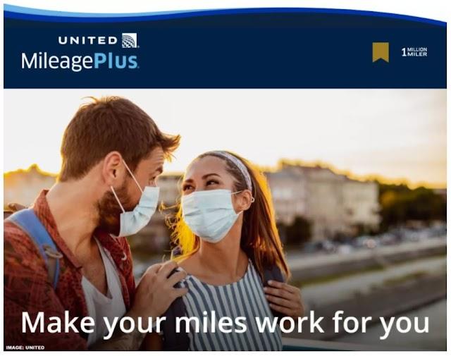 United Airlines美聯航里程購買促銷 最高贈送100%獎勵里程(10/27前有效)