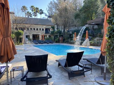 pool and full-service spa at Kenwood Inn & Spa in Kenwood, California