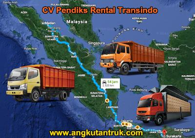 Truk Ekspedisi Solo Palembang Medan