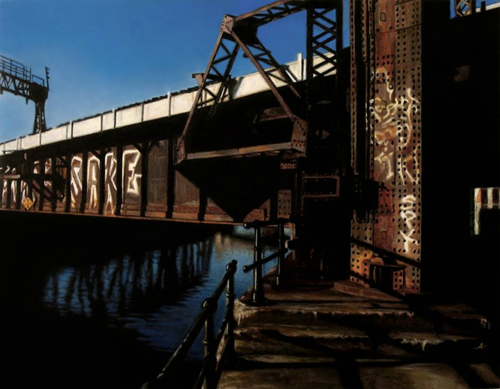 04-Steel-Water-and-Sake-Pierre-Raby-Urban-Landscapes-and-Still-Life-Realistic-Paintings-www-designstack-co