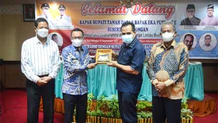 Bupati Tanah Datar Silaturahmi dengan Perantau IKLB Kota Batam