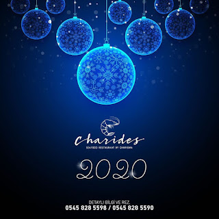Charides Sea Food Charisma Deluxe Hotel Kuşadası Yılbaşı Programı 2020 Menüsü
