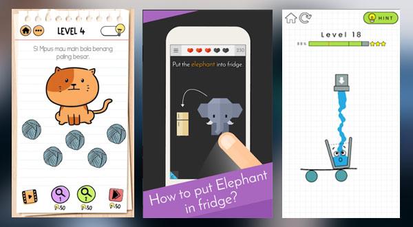 Game Android Teka-Teki Logika Untuk Asah Otak