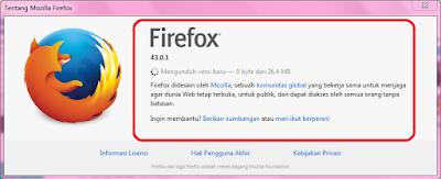 Cara Memperbarui Mozilla Firefox