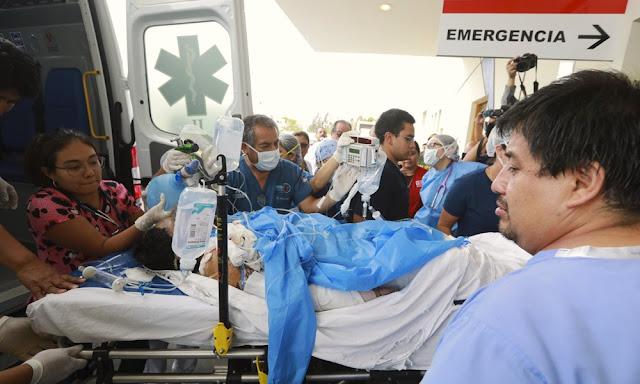 Víctimas de la tragedia en Villa El Salvador