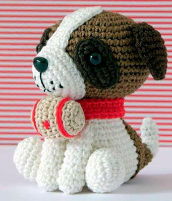 Собака амигуруми схема крючком