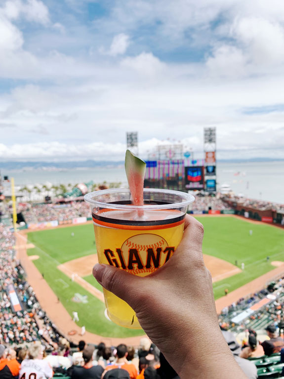 San Francisco Bucket List - attend a Giants game at Oracle Park