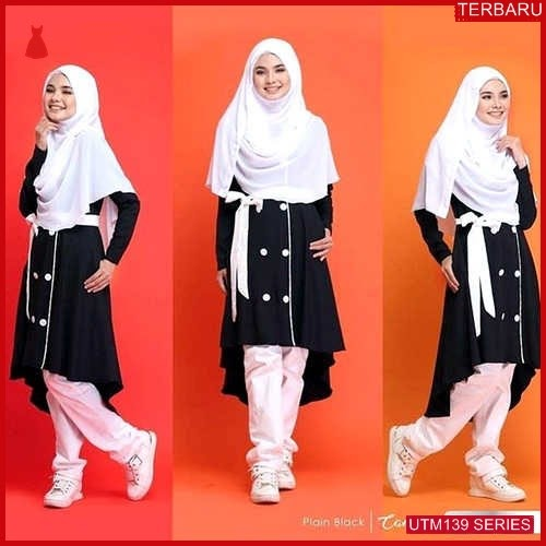 UTM139T73 Baju Tamalia Muslim Longtunik UTM139T73 08B | Terbaru BMGShop