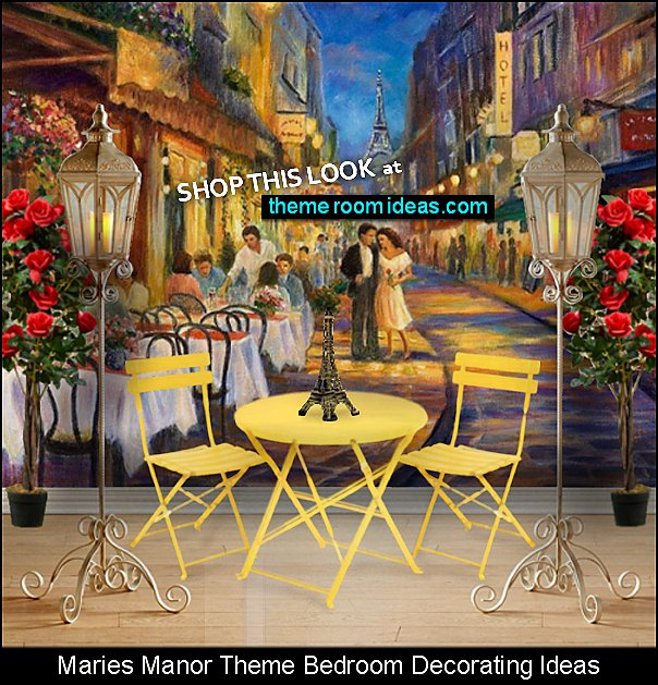 parisian cafe mural   parisian cafe wallpaper mural  paris cafe French cafe paris bistro decorating