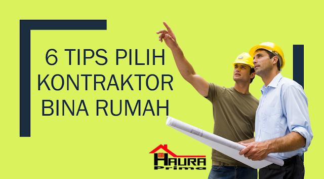 tips pilih kontraktor