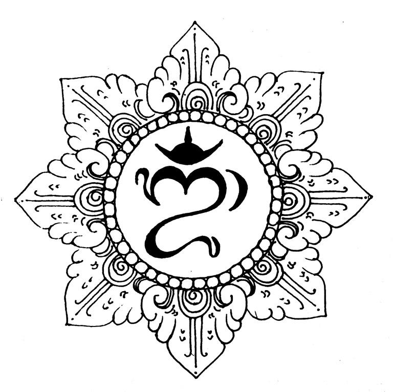 hindu symbols tattoos - 768×766