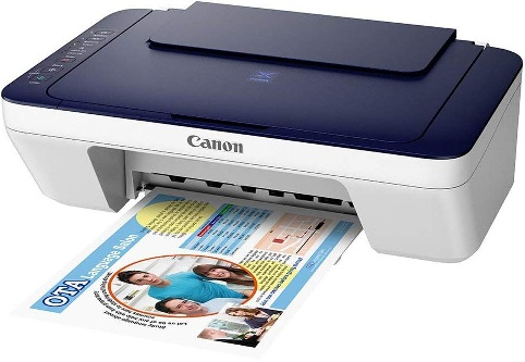 Canon Pixma E477 All-in-One Wireless Color Printer