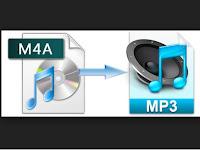 Cara mengubah m4a menjadi mp3 tanpa software