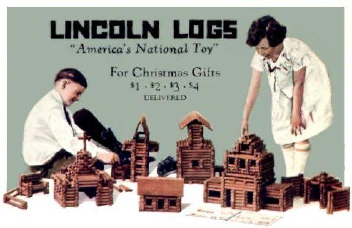 playskool lincoln logs instructions