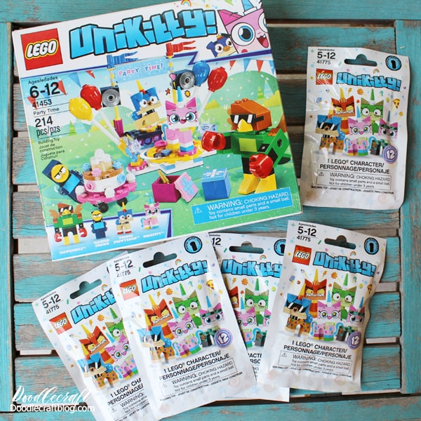 Lego Unicorn build plus Lego Unikitty sets