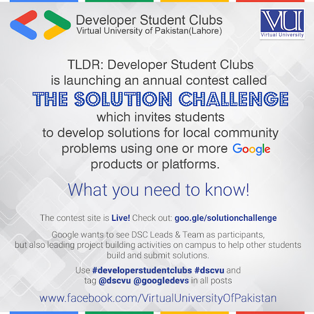 SOLUTION CHALLENGE by GOOGLE