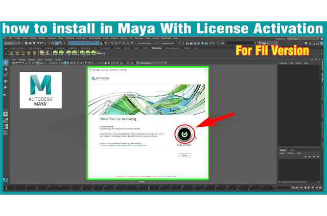 Download All Autodesk Maya Full Crack Version
