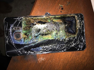 New Threat: Samsung Galaxy Note 9 Explodes In A Woman's Purse