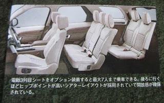 新型ディスカバリー フルモデルチェンジ 三列目シートはオプション