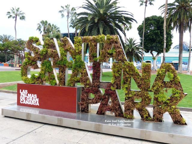 dejadez y deterioro parque santa catalina las palmas de gran canaria