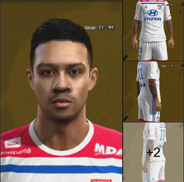 Ultigamerz Pes 2010 Pes 2011 Face: Ultigamerz: PES 2013 Memphis Depay (Lyon) Face & Tattoo 2019