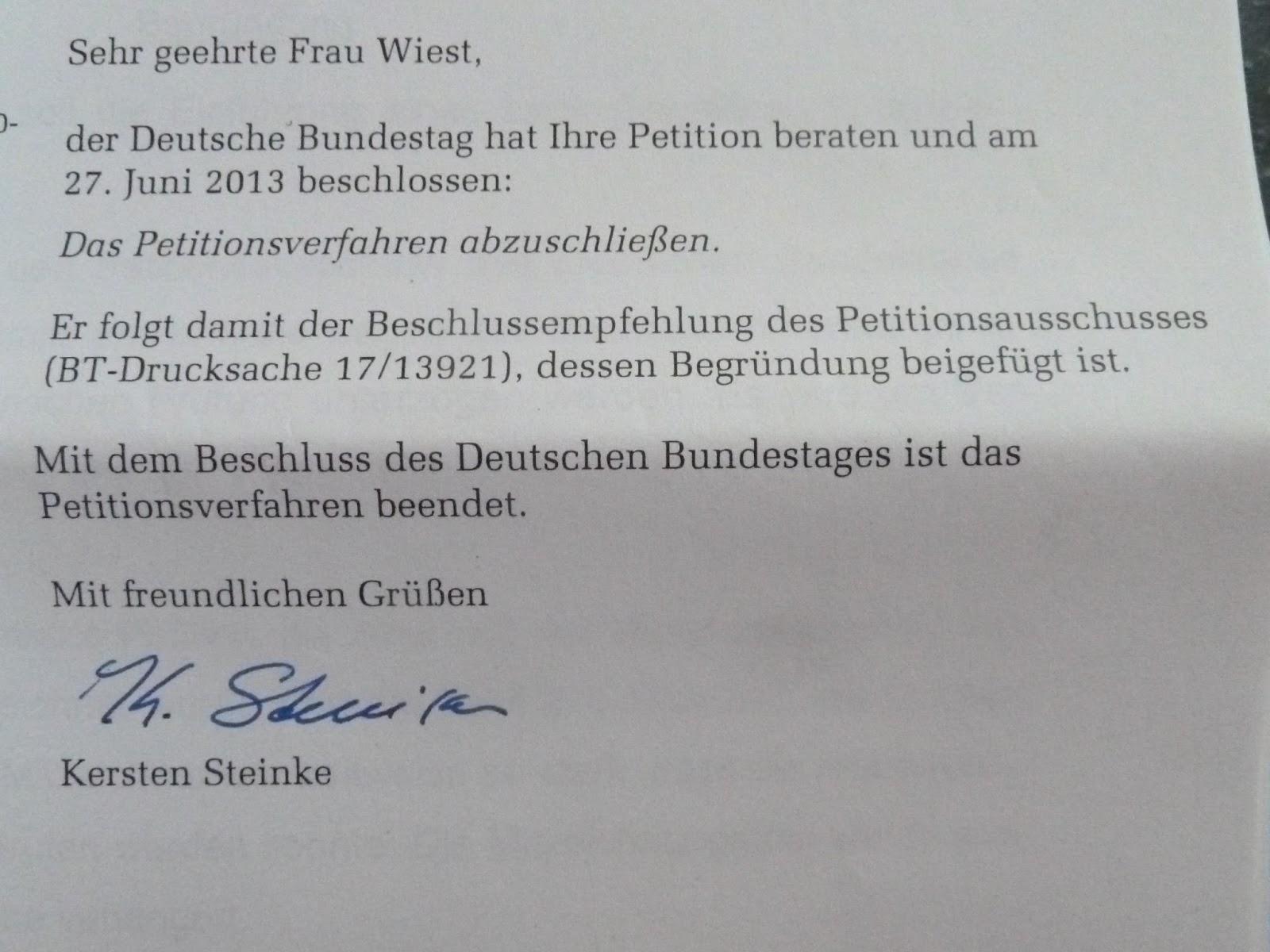 Begründung aus dem Bundestag: Uninspiriert, mutlos, seltsam