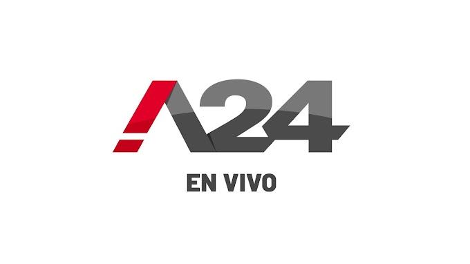 MIRA EN VIVO - LAS 24HS - CANAL A24
