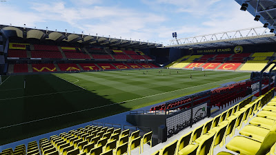 PES 2021 Stadium Vicarage Road
