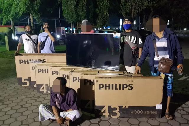 Nekat Curi 11 TV Mahal Seharga 60 Juta di Hotel Kuta Pujut Loteng Berhasil Diborgol