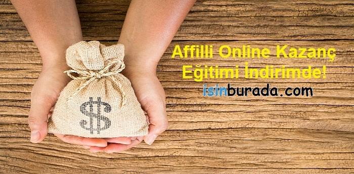 Affilli Online Kazanç Eğitimi İndirimde!