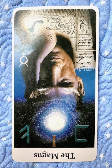 Mother-Tarot-the-Magician-card-reversed-Rohrig-Tarot