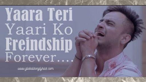 Yaara Teri Yaari Ko Song Lyrics | Rahul Jain |